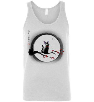 Jiji Under The Moon-Pop Culture Tank Tops-Ddjvigo|Threadiverse