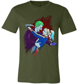 Joker And Harley-Comics Shirts-BaryonixART|Threadiverse