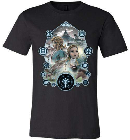 Journey Into The Wild-Gaming Shirts-Barrett Biggers|Threadiverse