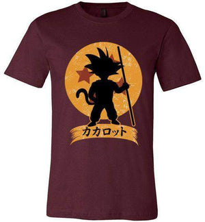 Kakarrot Crest-Anime Shirts-Kempo24|Threadiverse