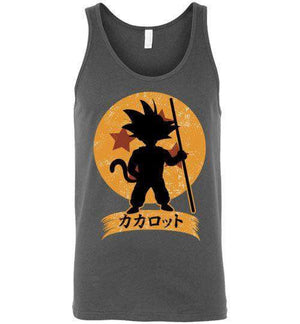 Kakarrot Crest-Anime Tank Tops-Kempo24|Threadiverse