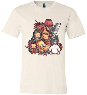 Kawaii Final Fantasy VII-Gaming Shirts-JML2Art|Threadiverse