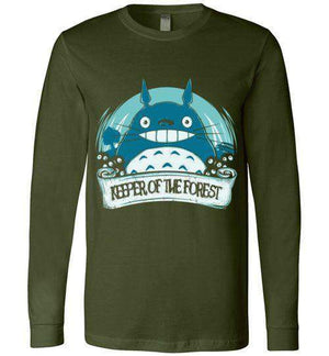 Keeper Of The Forest-Anime Long Sleeves-Donnie Illustrateur|Threadiverse
