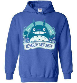 Keeper Of The Forest-Anime Hoodies-Donnie Illustrateur|Threadiverse