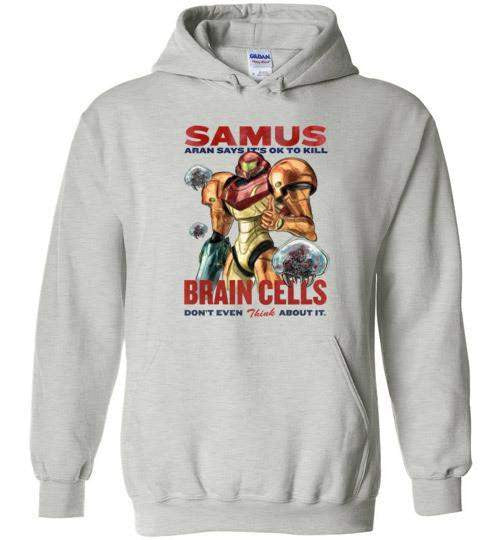Let's Kill Some Brain Cells-Gaming Hoodies-Barrett Biggers|Threadiverse
