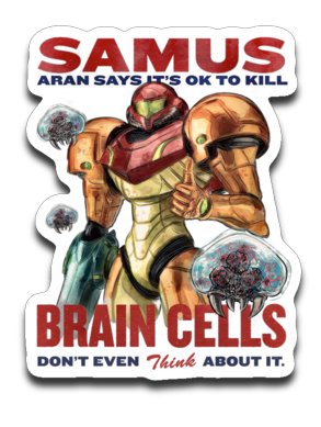 Let's Kill Some Brain Cells-Decals-Barrett Biggers|Threadiverse