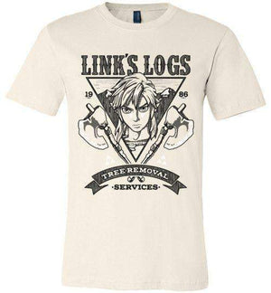 Link's Log Removal-Gaming Shirts-Punksthetic Designs|Threadiverse