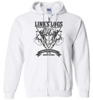 Link's Log Removal-Gaming Hoodies-Punksthetic Designs|Threadiverse