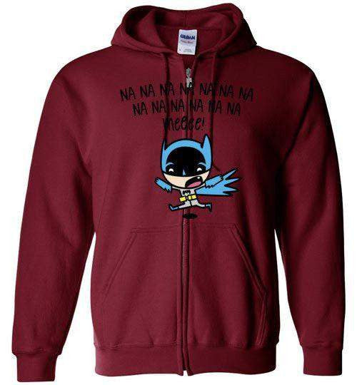 Little Batboy-Comics Hoodies-DEMONIGOTE|Threadiverse