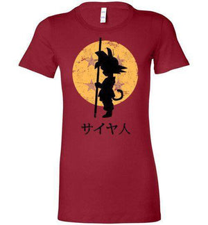 Looking For The Dragon Balls-Anime Women's Shirts-Ddjvigo|Threadiverse