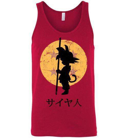 Looking For The Dragon Balls-Anime Tank Tops-Ddjvigo|Threadiverse