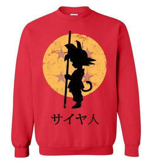 Looking For The Dragon Balls-Anime Sweatshirts-Ddjvigo|Threadiverse