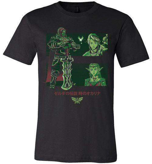 Looking For The Triforce-Gaming Shirts-Ddjvigo|Threadiverse