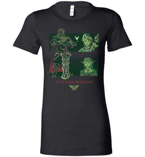 Looking For The Triforce-Gaming Women's Shirts-Ddjvigo|Threadiverse