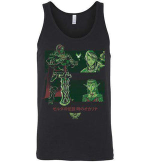 Looking For The Triforce-Gaming Tank Tops-Ddjvigo|Threadiverse