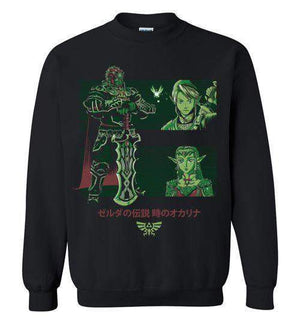 Looking For The Triforce-Gaming Sweatshirts-Ddjvigo|Threadiverse