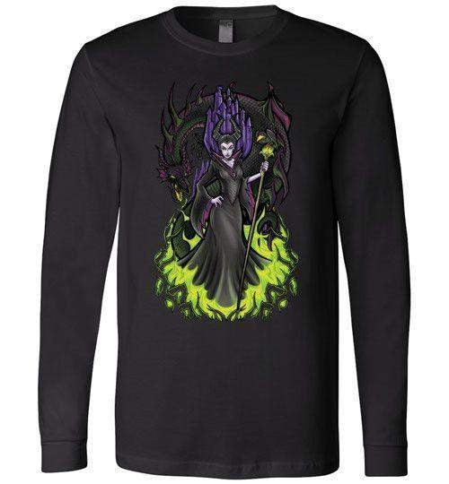 Malificent-Animation Long Sleeves-TrulyEpic|Threadiverse