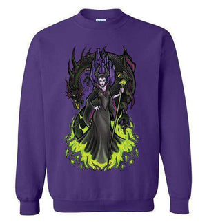 Malificent-Animation Sweatshirts-TrulyEpic|Threadiverse