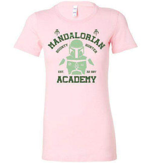 Mandalorian Academy-Pop Culture Women's Shirts-Ddjvigo|Threadiverse
