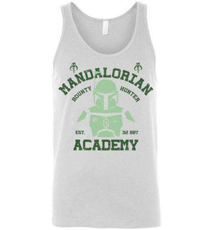 Mandalorian Academy-Pop Culture Tank Tops-Ddjvigo|Threadiverse