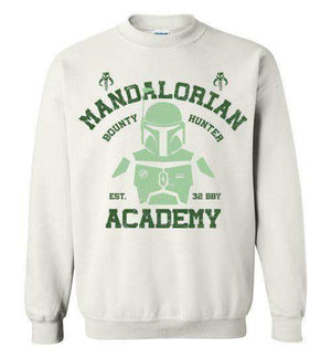 Mandalorian Academy-Pop Culture Sweatshirts-Ddjvigo|Threadiverse