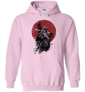 Mandalorian Samurai-Pop Culture Hoodies-Ddjvigo|Threadiverse