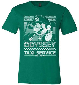 Mario Odyssey Taxi Service-Gaming Shirts-Punksthetic Designs|Threadiverse