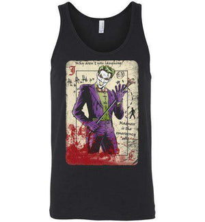 Master Criminal-Comics Tank Tops-Ddjvigo|Threadiverse