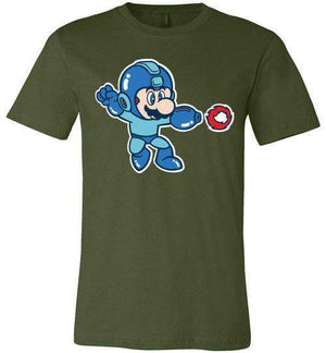 Mega Mario-Gaming Shirts-CoD (Create Or Destroy) Designs|Threadiverse