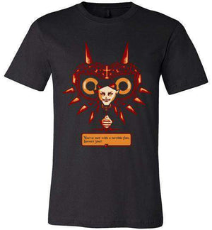 Met With A Terrible Fate?-Gaming Shirts-DEMONIGOTE|Threadiverse