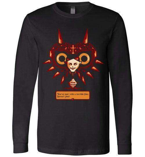 Met With A Terrible Fate?-Gaming Long Sleeves-DEMONIGOTE|Threadiverse