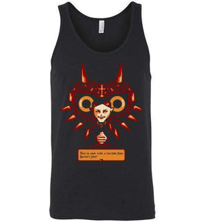 Met With A Terrible Fate?-Gaming Tank Tops-DEMONIGOTE|Threadiverse