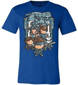 Metal Kawaii Solid-Gaming Shirts-JML2Art|Threadiverse
