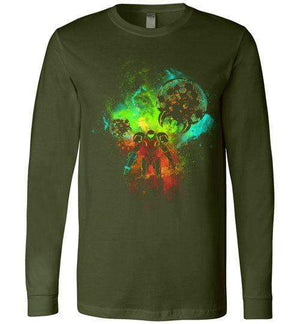 Metroid-Gaming Long Sleeves-Donnie Illustrateur|Threadiverse