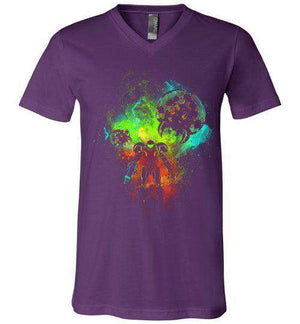 Metroid-Gaming V-Necks-Donnie Illustrateur|Threadiverse