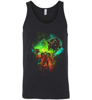 Metroid-Gaming Tank Tops-Donnie Illustrateur|Threadiverse