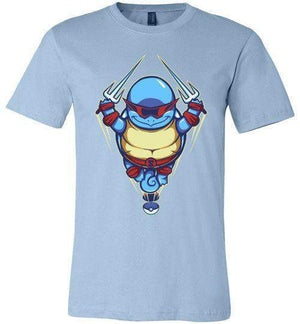 Ninja Squirtle-Gaming Shirts-TrulyEpic|Threadiverse