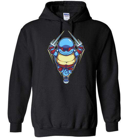 Ninja Squirtle-Gaming Hoodies-TrulyEpic|Threadiverse
