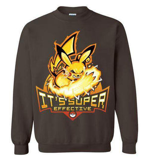 Pika Power-Gaming Sweatshirts-TrulyEpic|Threadiverse