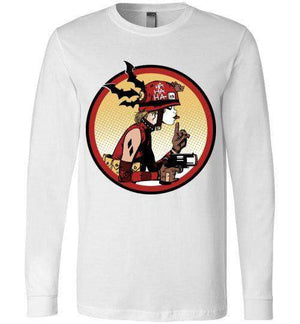 Prank Girl-Comics Long Sleeves-Fishmas|Threadiverse