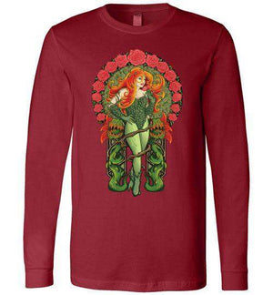 Pretty Poison-Comics Long Sleeves-TrulyEpic|Threadiverse