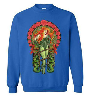 Pretty Poison-Comics Sweatshirts-TrulyEpic|Threadiverse