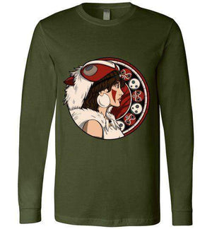 Princess OF The Forest-Anime Long Sleeves-Whimsy Design And Illustration|Threadiverse
