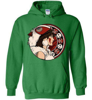 Princess OF The Forest-Anime Hoodies-Whimsy Design And Illustration|Threadiverse