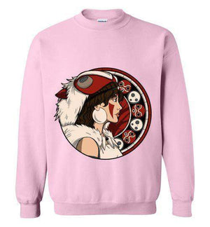 Princess OF The Forest-Anime Sweatshirts-Whimsy Design And Illustration|Threadiverse