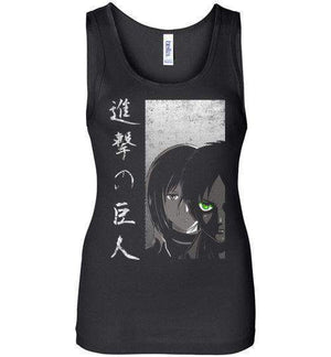 Protect The Wall-Anime Women's Tank Tops-Ddjvigo|Threadiverse