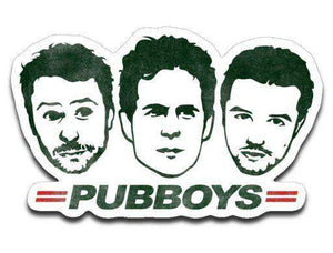 Pub Boys-Decals-Punksthetic Designs|Threadiverse