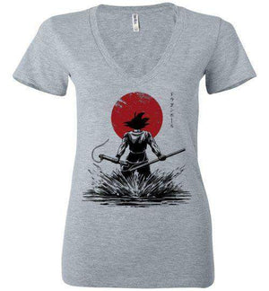 Pure Of Heart Warrior-Anime Women's V-Necks-Ddjvigo|Threadiverse