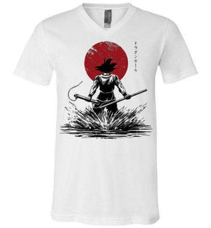 Pure Of Heart Warrior-Anime V-Necks-Ddjvigo|Threadiverse