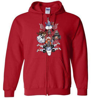 Red Shell Standing By-Pop Culture Hoodies-TrulyEpic|Threadiverse